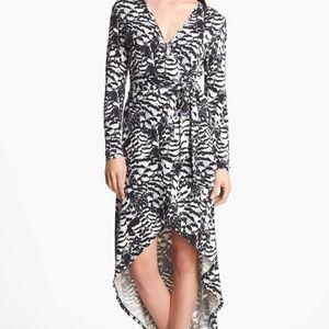 Tart High Low Jersey Wrap Dress Size Xs